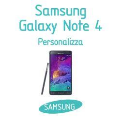Cover Personalizzata per Samsung Galaxy Note 4