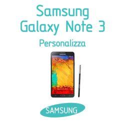 Cover Personalizzata per Samsung Galaxy Note 3