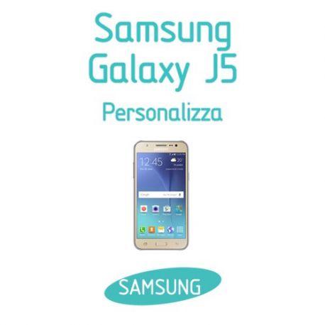 Cover Personalizzata per Samsung Galaxy J5