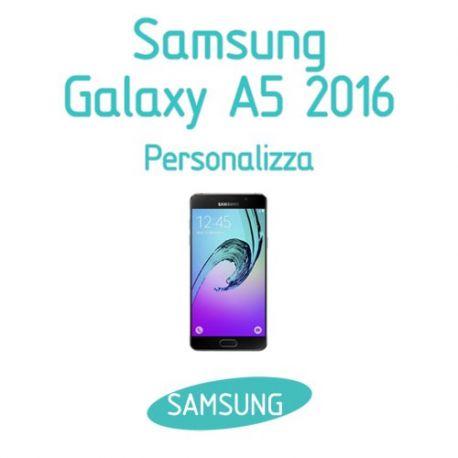 Cover Personalizzata per Samsung Galaxy A5 2016