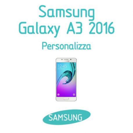 Cover Personalizzata per Samsung Galaxy A3 2016
