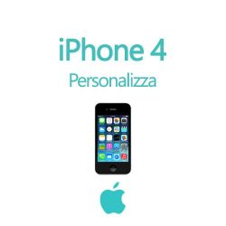 Cover Personalizzata per iPhone 4