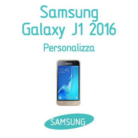 Cover Personalizzata per Samsung Galaxy J1 2016