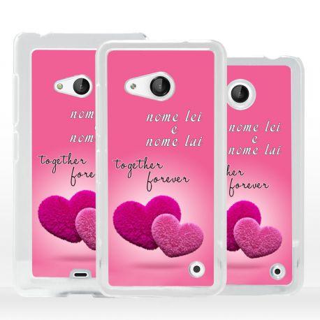 Cover regalo San Valentino per Microsoft Nokia Lumia