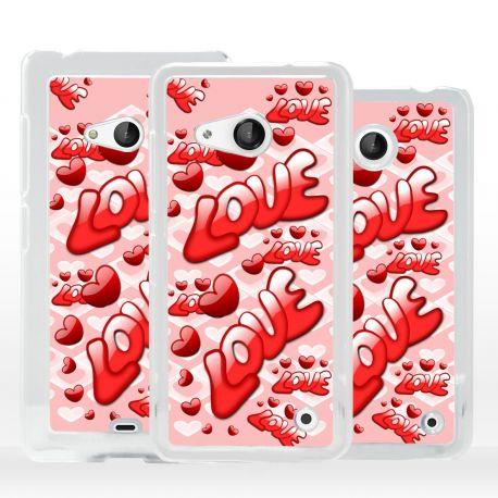 Cover Amore Love per Microsoft Nokia Lumia