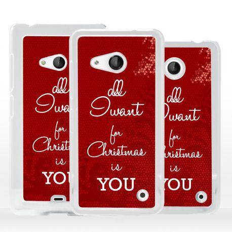 Cover pensiero di Natale per Microsoft Nokia Lumia