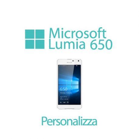 Cover Personalizzata per Microsoft Lumia 650