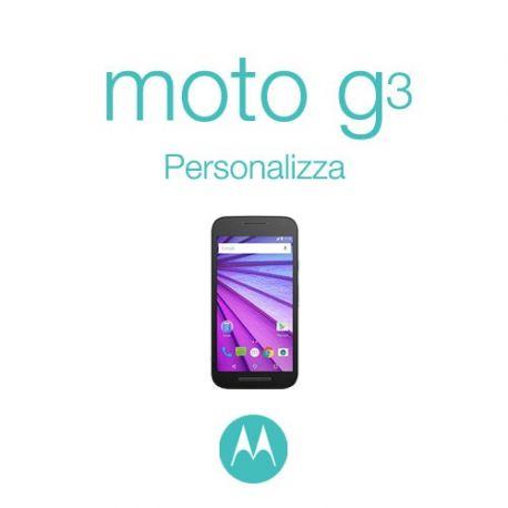 Cover Personalizzata per Motorola Moto G3