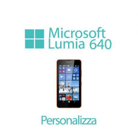 Cover Personalizzata per Microsoft Lumia 640