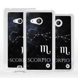 Cover Scorpione segno Zodiacale per Microsoft Nokia Lumia