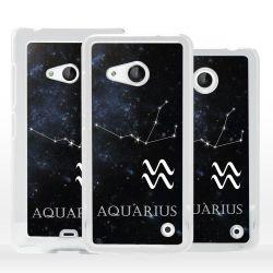 Cover Acquario segno Zodiaco per Microsoft Nokia Lumia