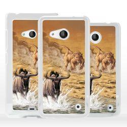 Cover scena caccia animali per Nokia Microsoft Xiaomi