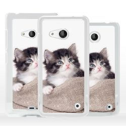 Cover gatto cucciolo per Microsoft Nokia Lumia
