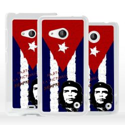 Cover bandiera Cuba Che Guevara per Nokia Microsoft Xiaomi
