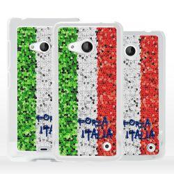 Cover bandiera Italia tricolore per Microsoft Nokia Lumia