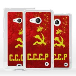 Cover bandiera URSS Russia Sovietica per Microsoft Nokia Lumia