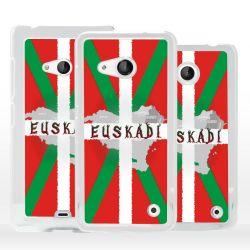 Cover bandiera Paesi Baschi per Microsoft Nokia Lumia