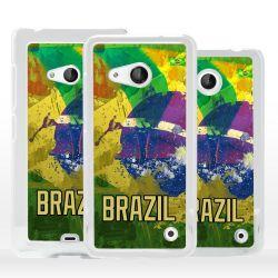 Cover bandiera Brasile per Microsoft Nokia Lumia