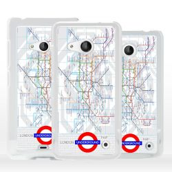 Cover mappa metropolitana Londra per Nokia Microsoft Xiaomi