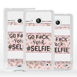 Cover Fuck Selfie per Microsoft Nokia Lumia
