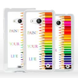 Cover Paint your Life per Nokia Microsoft Xiaomi