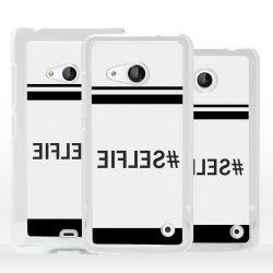 Cover Selfie scritta specchiata per Microsoft Nokia Lumia