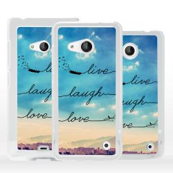 Cover Live Laugh Love per Microsoft Nokia Lumia