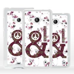 Cover Peace and Love per Microsoft Nokia Lumia