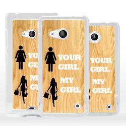 Cover fidanzata sexy per Microsoft Nokia Lumia