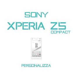Cover Personalizzata per Sony Xperia Z5 Compact