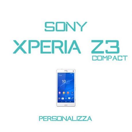 Cover Personalizzata per Sony Xperia Z3 Compact