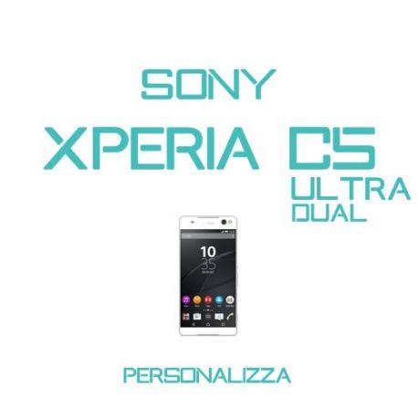 Cover Personalizzata per Sony Xperia C5 Ultra Dual