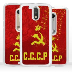 Cover bandiera URSS per Motorola