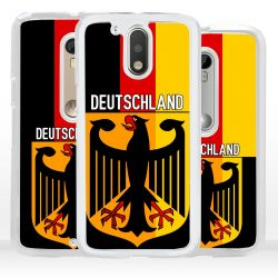 Cover bandiera Germania per Motorola