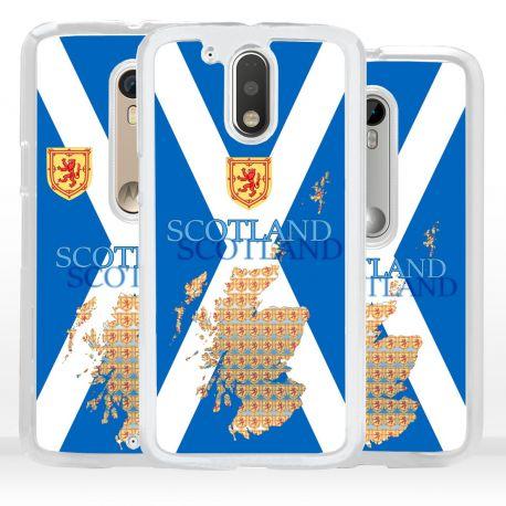 Cover bandiera Scozia per Motorola