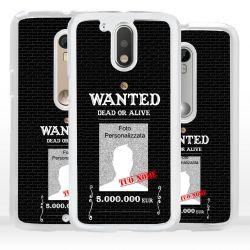 Cover per Motorola modello Wanted Ricercato
