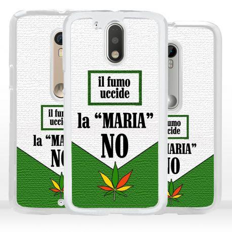 Cover ironica per Motorola foglia marijuana