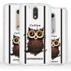 Cover per Motorola gufo caffè
