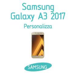 Cover Personalizzata per Samsung Galaxy A3 2017