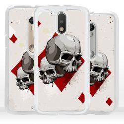 Cover per Motorola Teschio Poker