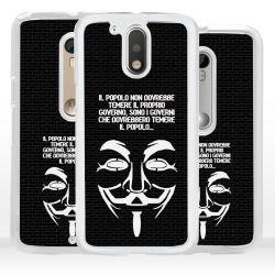 Cover per Motorola maschera Anonymous