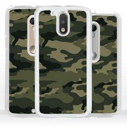 Cover per Motorola mimetico verde militare