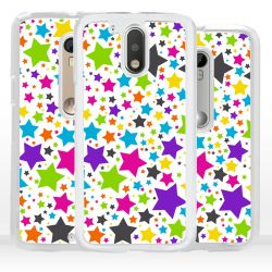 Cover per Motorola stelle colorate