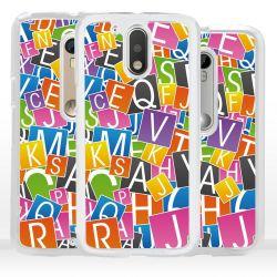 Cover per Motorola lettere alfabeto