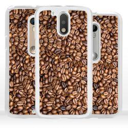 Cover per Motorola chicchi caffè