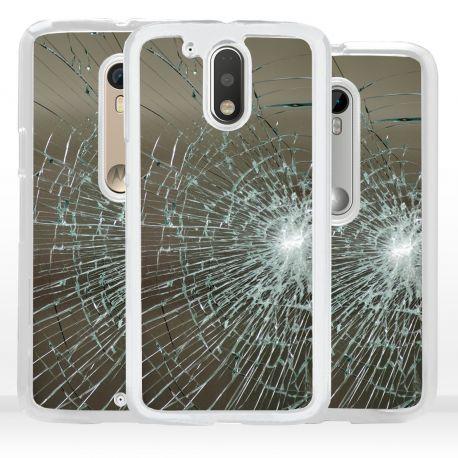Cover per Motorola vetro rotto