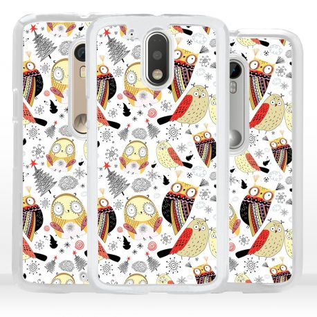 Cover per Motorola gufi civette