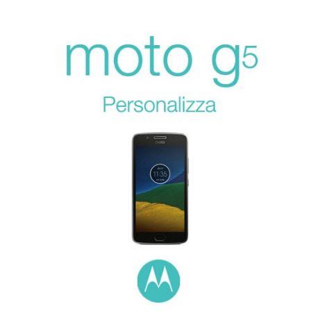 Cover Personalizzata per Motorola Moto G5