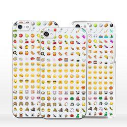 Cover emoticon faccine per iPhone