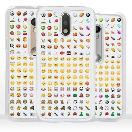 Cover emoticon faccine per Motorola